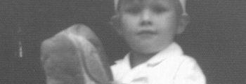 Ruben Meinders op 4-jarige leeftijd